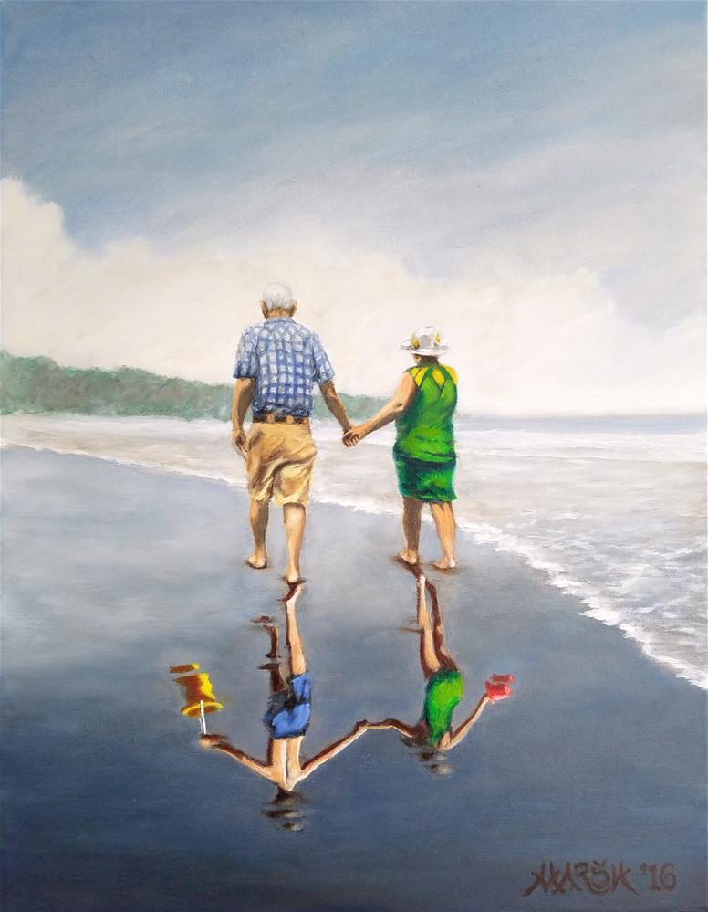 """Reflecting Happiness"" original fine art by Jason Marsh"