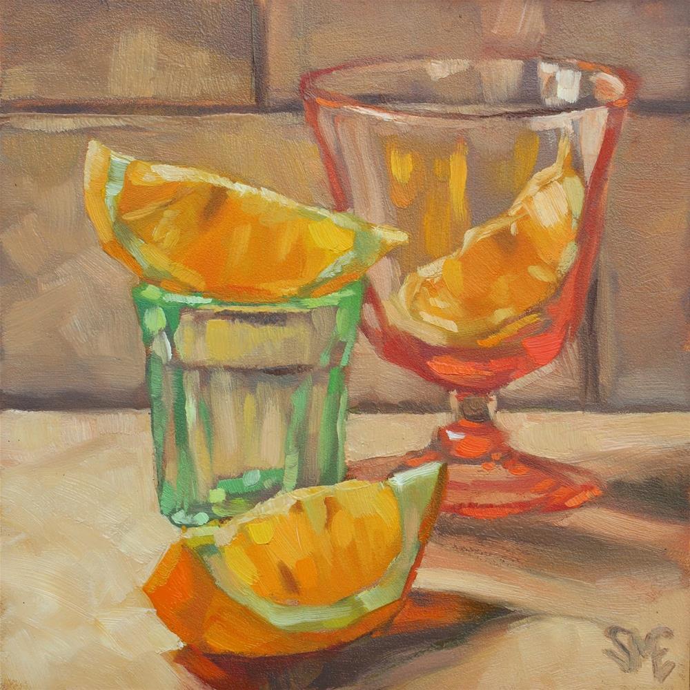 """""""Shot of Spring"""" original fine art by Sheila Evans"""