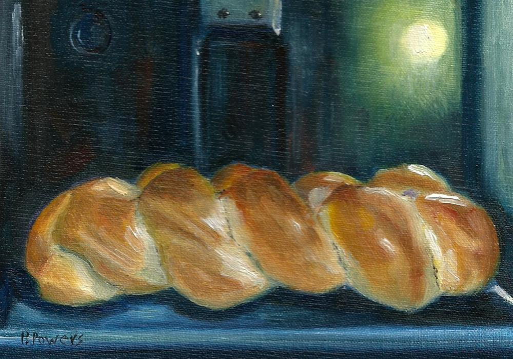 """Baking Bread"" original fine art by Patricia J. Powers"