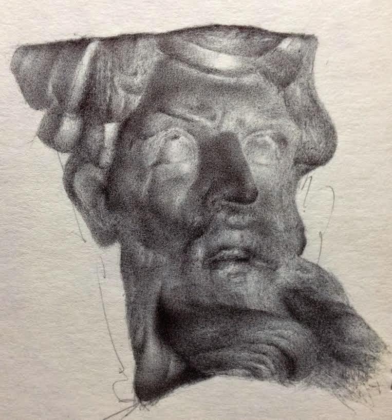 """Poseidon"" original fine art by Jonathan Aller"