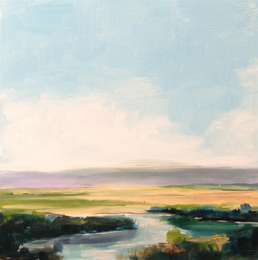 """Spring Marsh"" original fine art by Dianna Poindexter"