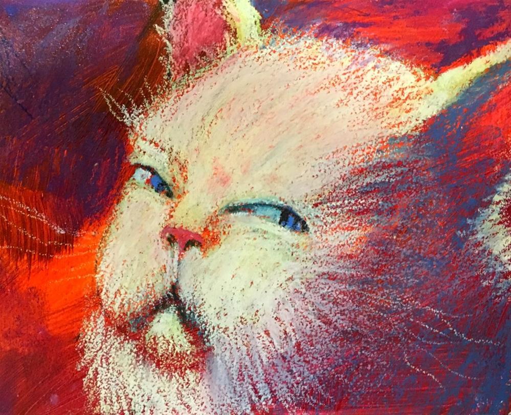 """Are You Lookin' At Me?"" original fine art by Jeff Leedy"