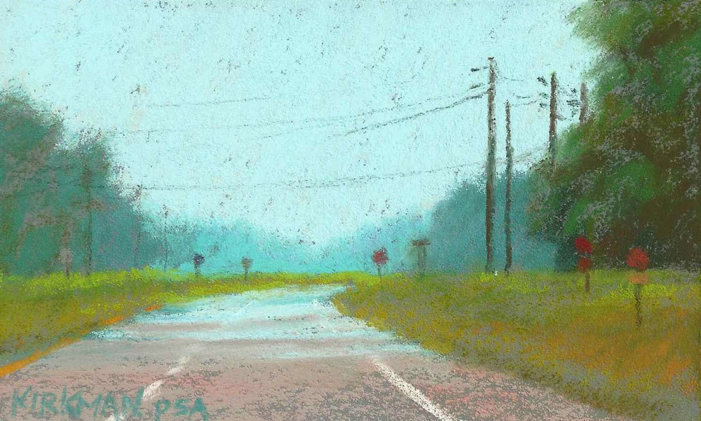 """Road Sketch #20"" original fine art by Rita Kirkman"