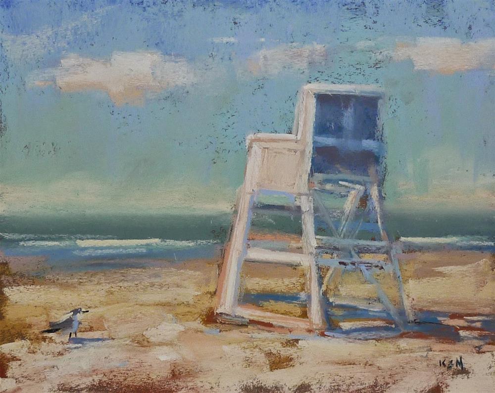"""How Blogging Has Made Me a Better Painter"" original fine art by Karen Margulis"