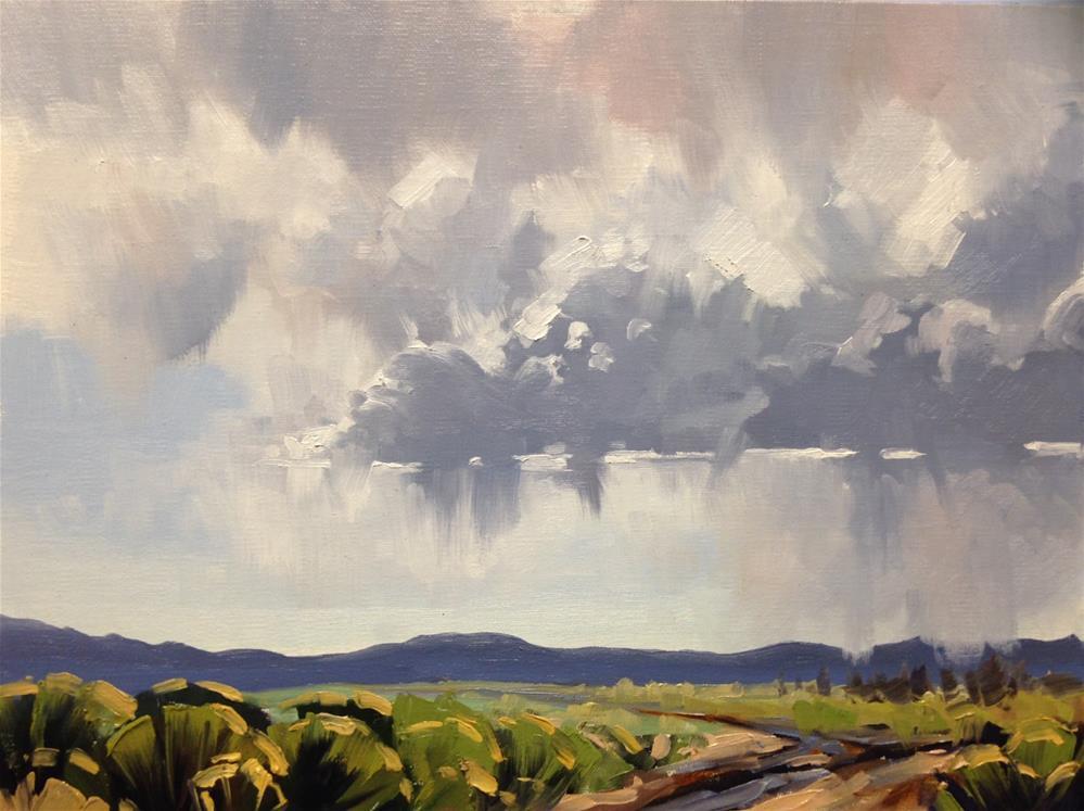 """Dry Rain"" original fine art by Mary Jabens"