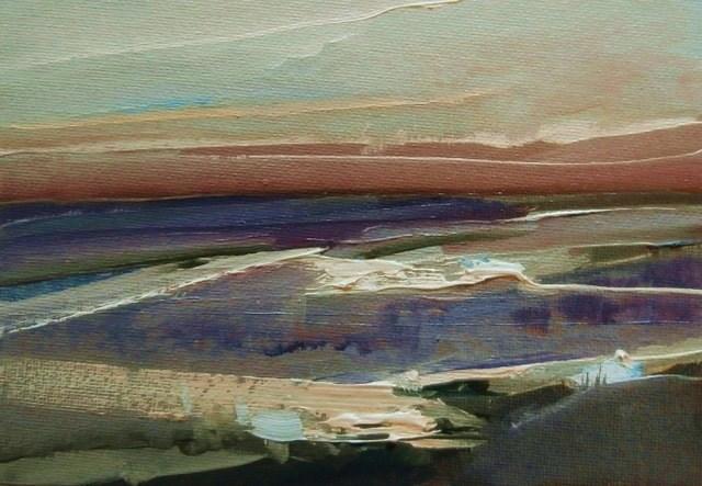 """Mud Melancholy"" original fine art by Anne Wood"