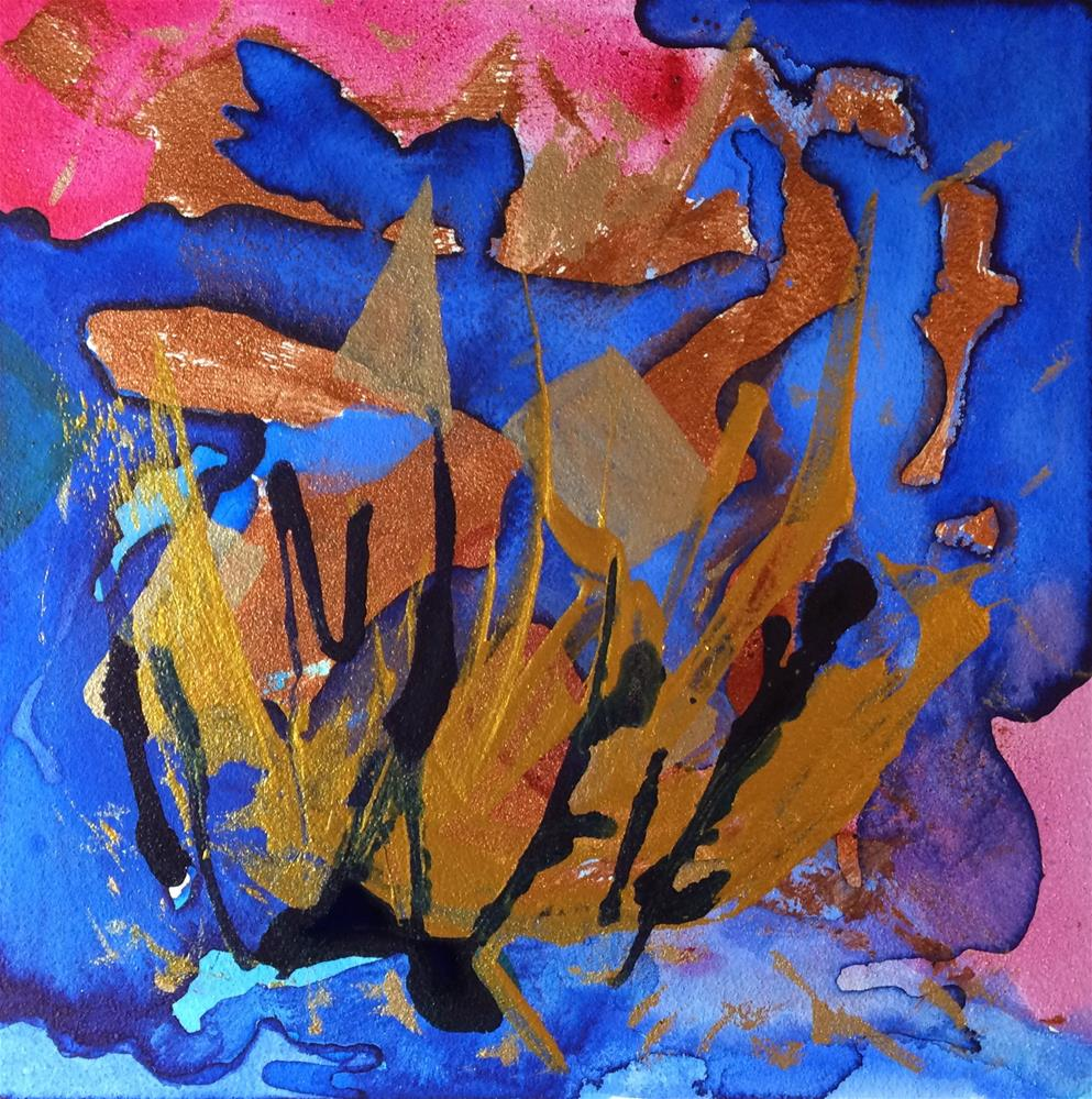 """Reef Madness"" original fine art by Susan Medyn"