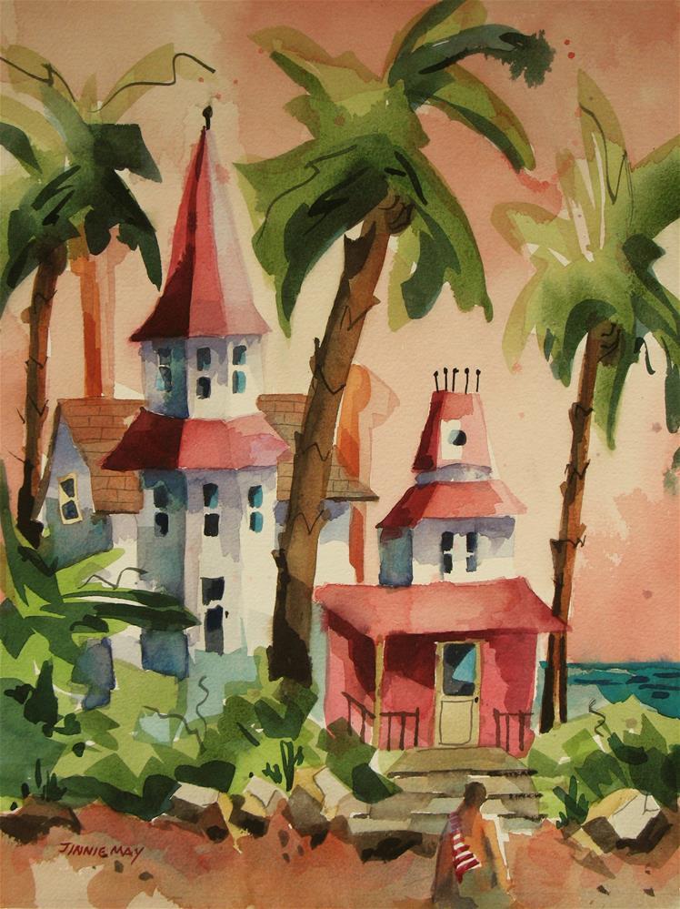 """Beach Access-San Diego, CA"" original fine art by Jinnie May"