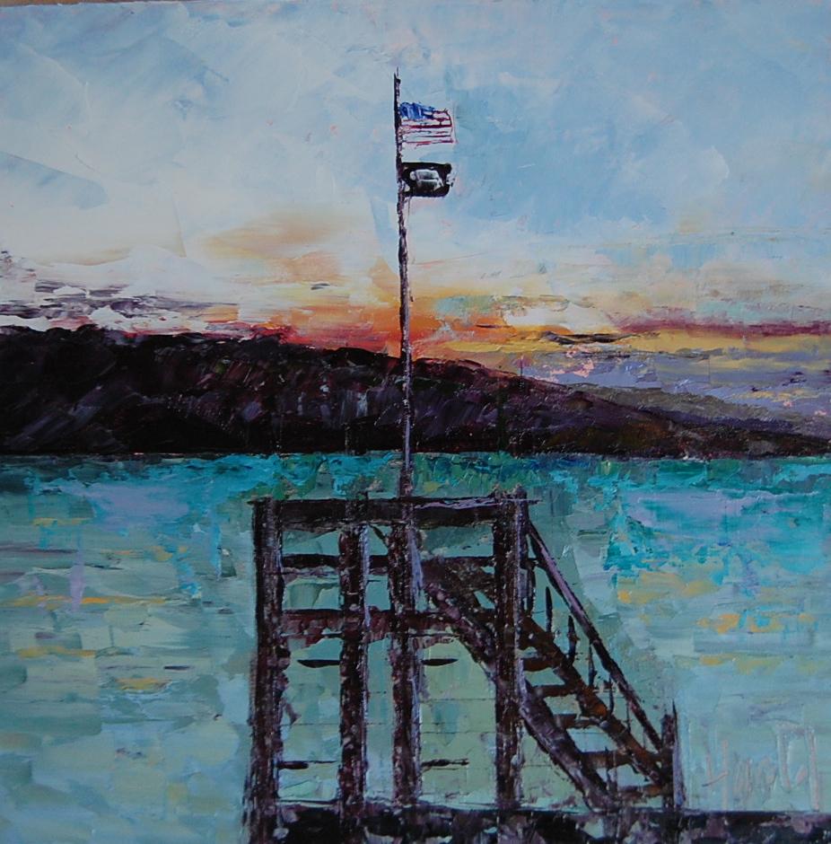 """Montana"" original fine art by Deborah Harold"