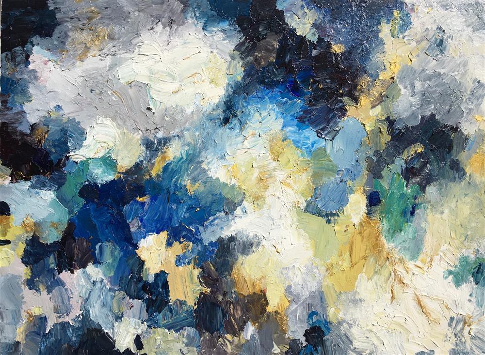 """""""Midnight"""" original fine art by Nava Judith"""