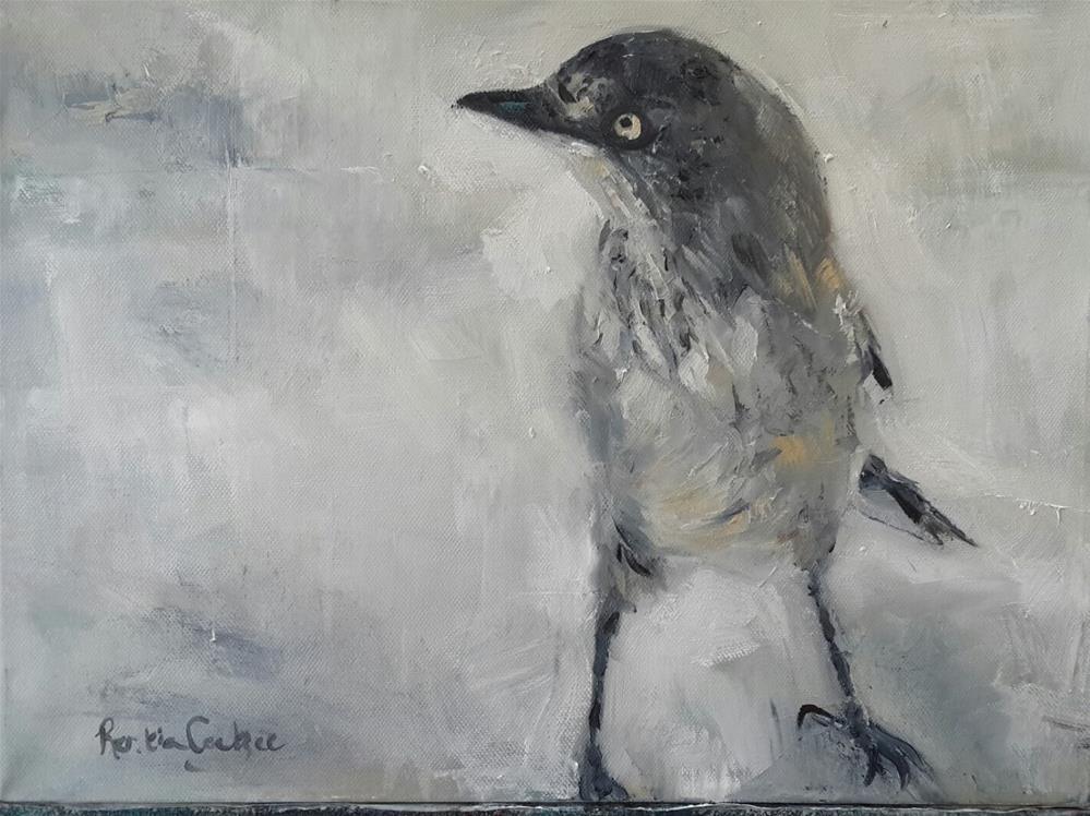 """Feeling brave"" original fine art by Rentia Coetzee"