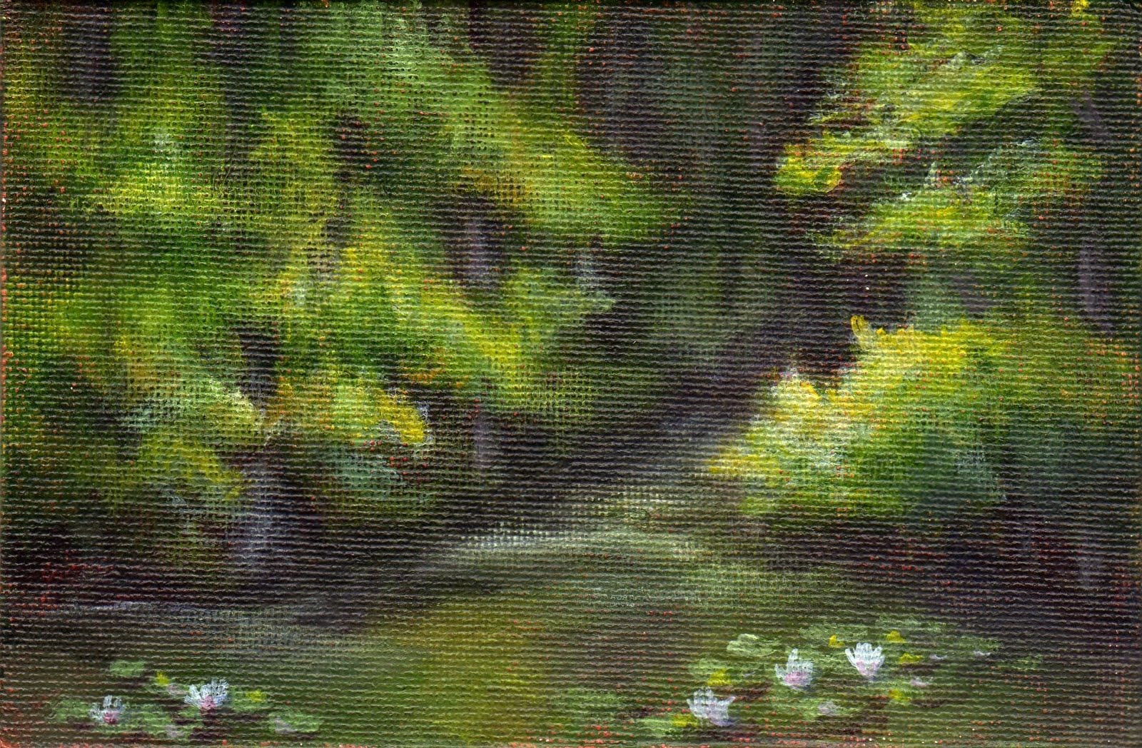 """Solitary Spot"" original fine art by Debbie Shirley"