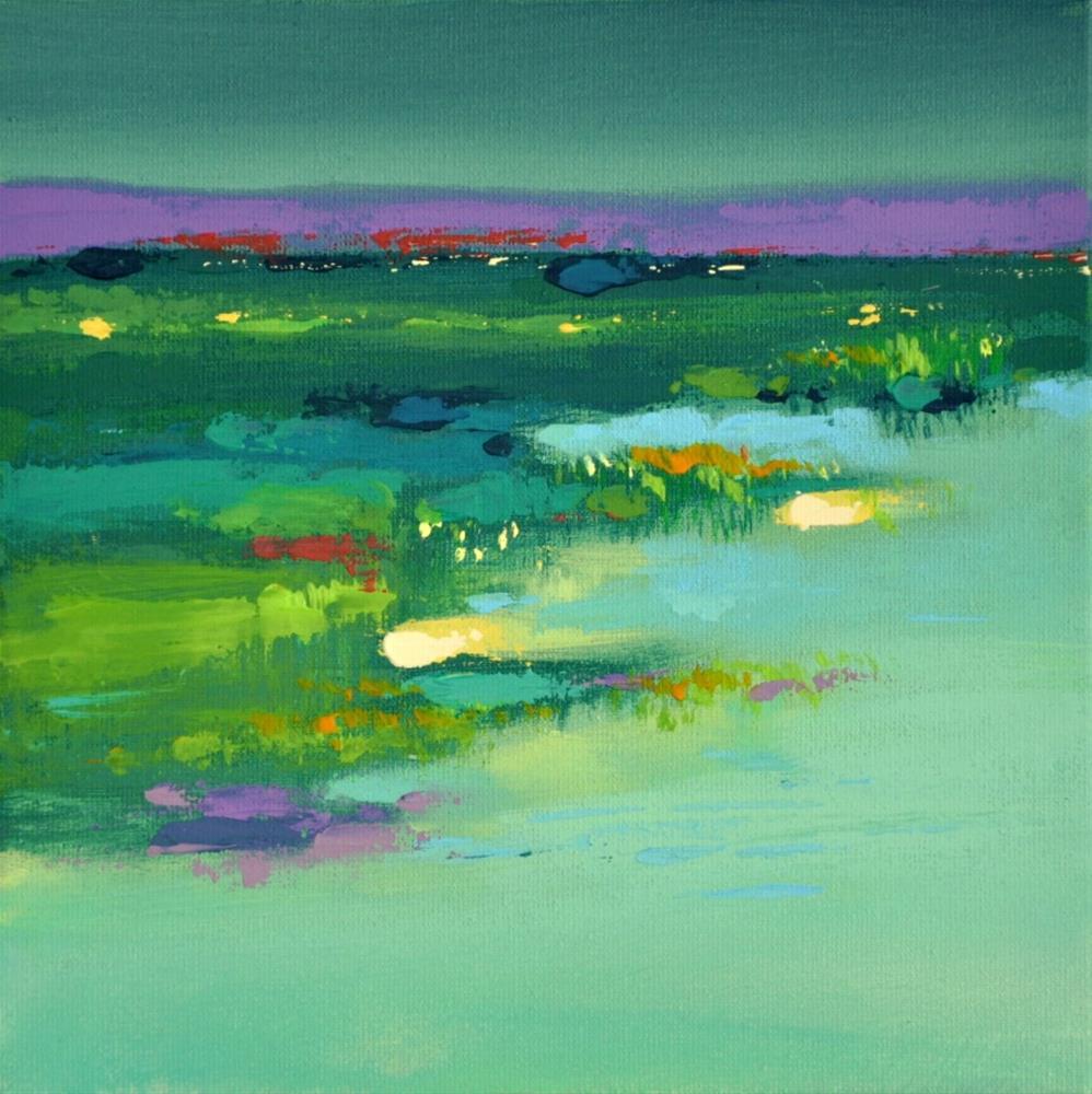 """Landscape 212"" original fine art by Ewa Kunicka"