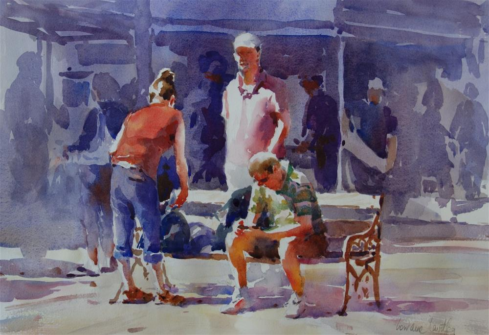 """Time Out"" original fine art by Lorraine Lewitzka"