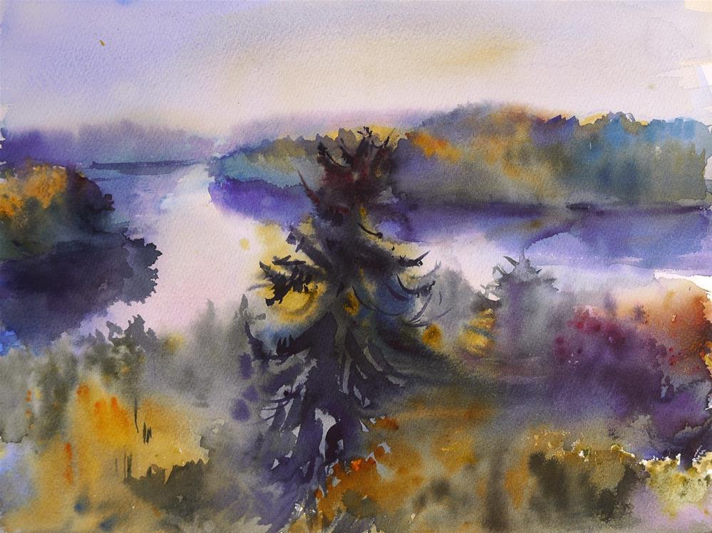 """spruce"" original fine art by Beata Musial-Tomaszewska"