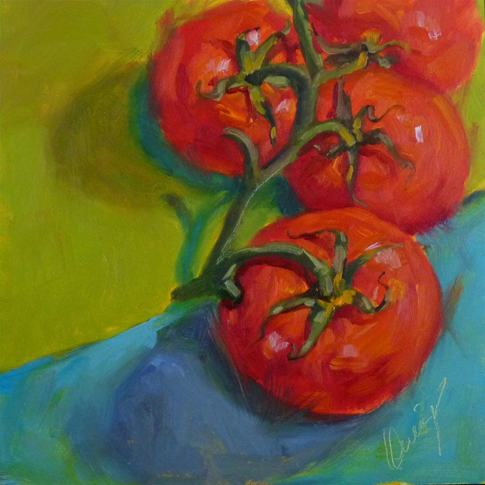 """Salad Bound"" original fine art by Sharman Owings"