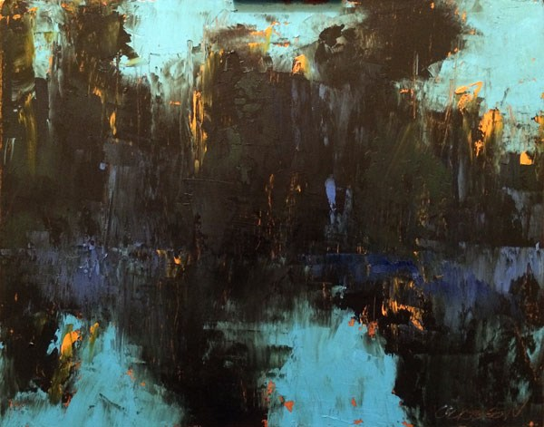 """Wise Lake, Evening"" original fine art by Mary Gilkerson"