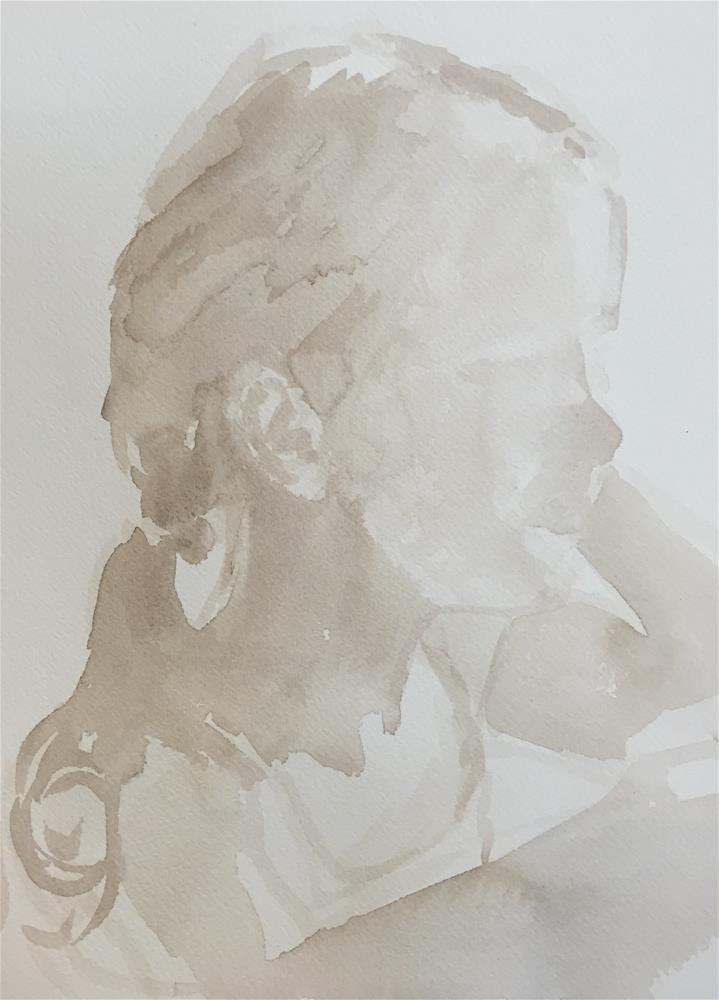 """Elsie (sketch #5)"" original fine art by Cindy McDonough"