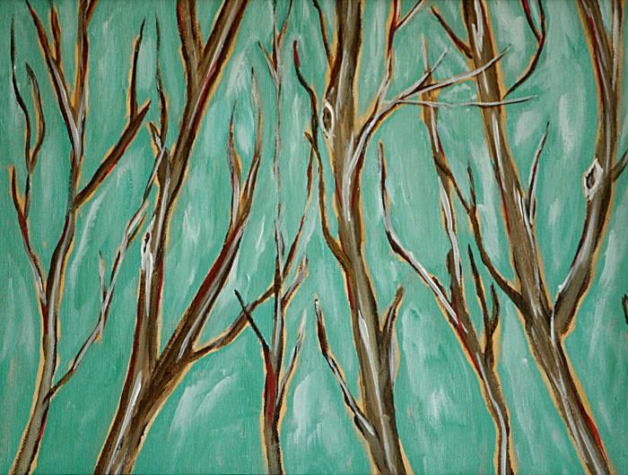 """Stillness 2"" original fine art by Sunny Williams"