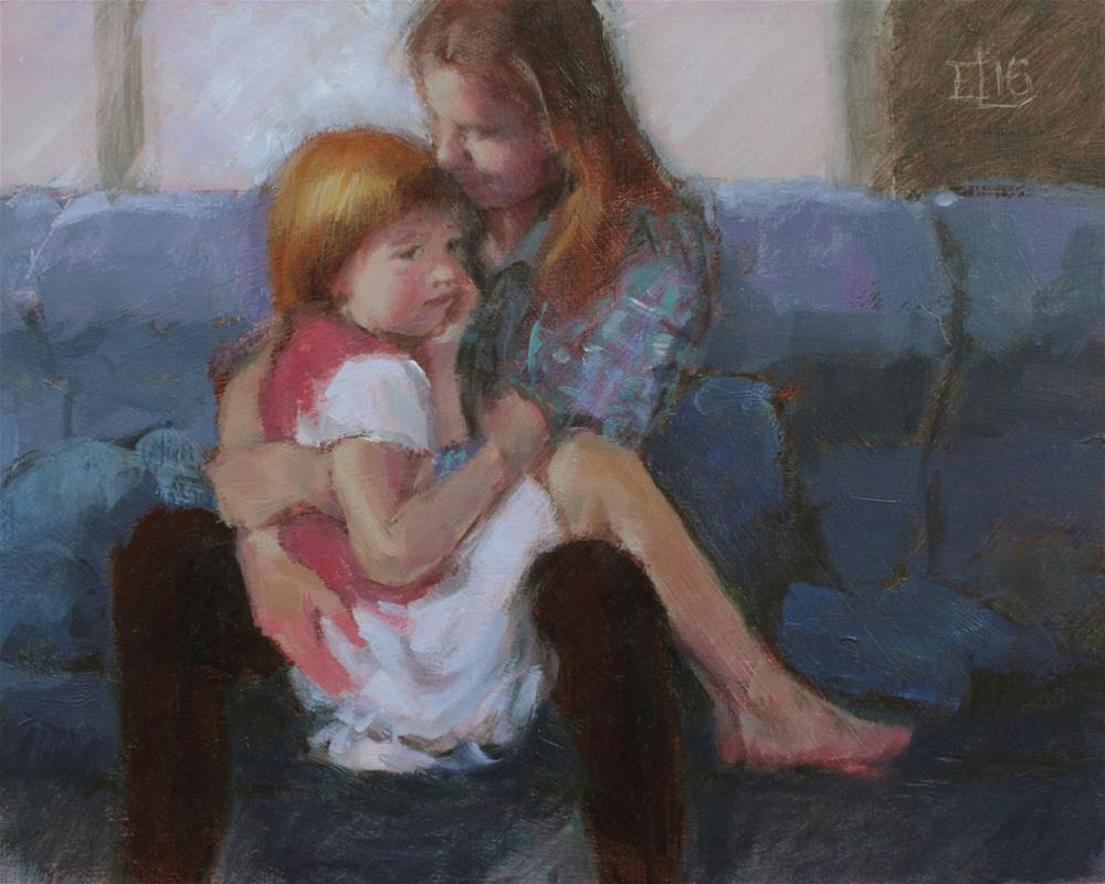 """Consolation"" original fine art by Emilia Leinonen"