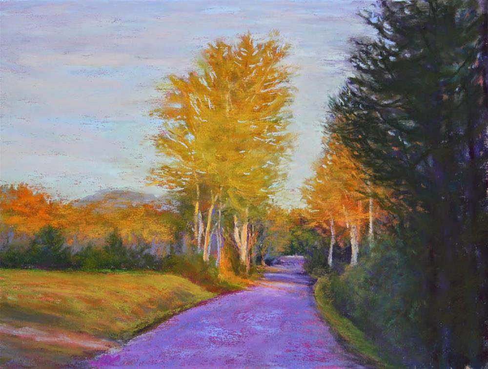 """Just Around the Corner"" original fine art by Sharon Lewis"