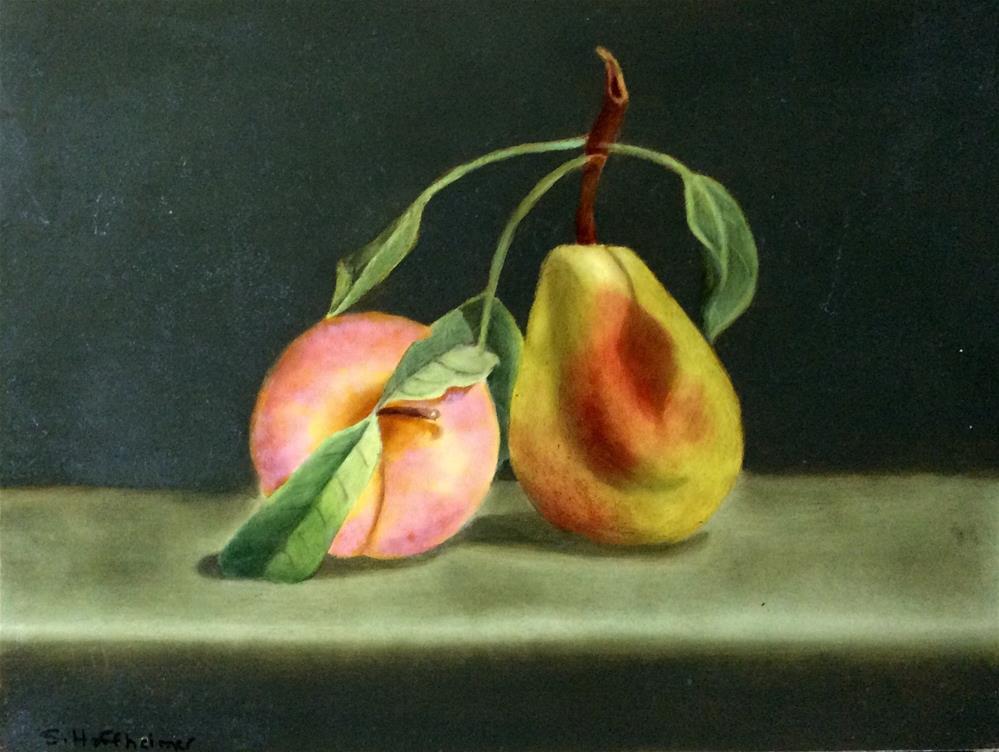 """""""Buddies"""" original fine art by Susan Hoffheimer"""