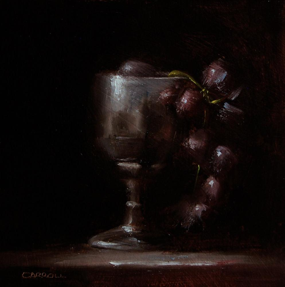 """Goblet"" original fine art by Neil Carroll"