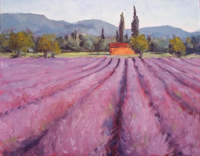 """""""The Outdoors"""" original fine art by Deborah Newman"""
