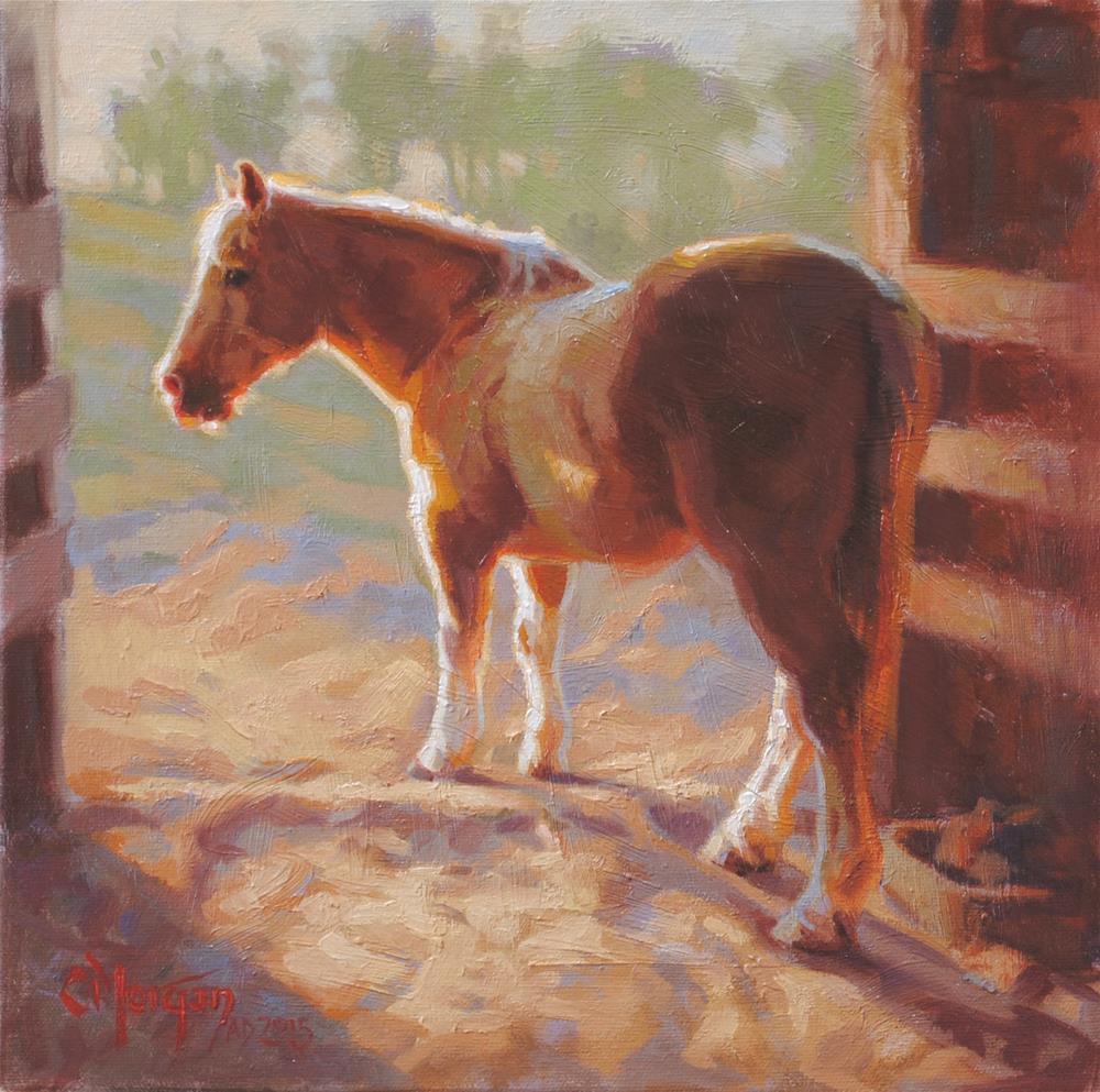 """""""Good Old Poco"""" original fine art by Cecile W. Morgan"""
