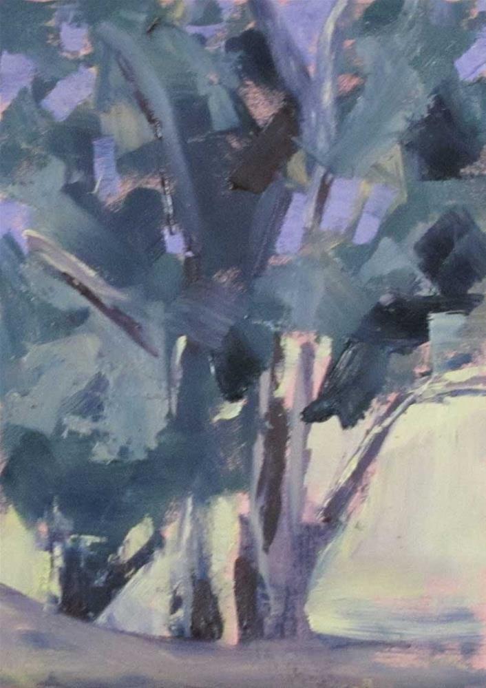 """""""Wednesday Class"""" original fine art by Helen Moreda"""