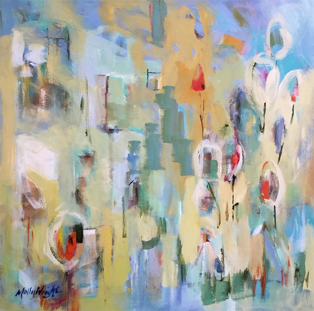 """Impromptu"" original fine art by Molly Wright"