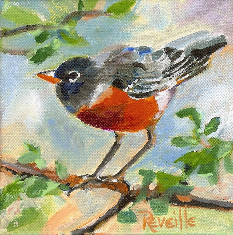 """I'll Fly Away"" original fine art by Reveille Kennedy"