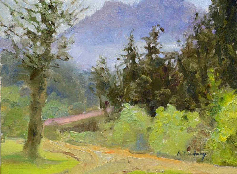 """""""Springtime, Benbow"""" original fine art by alicia tredway"""