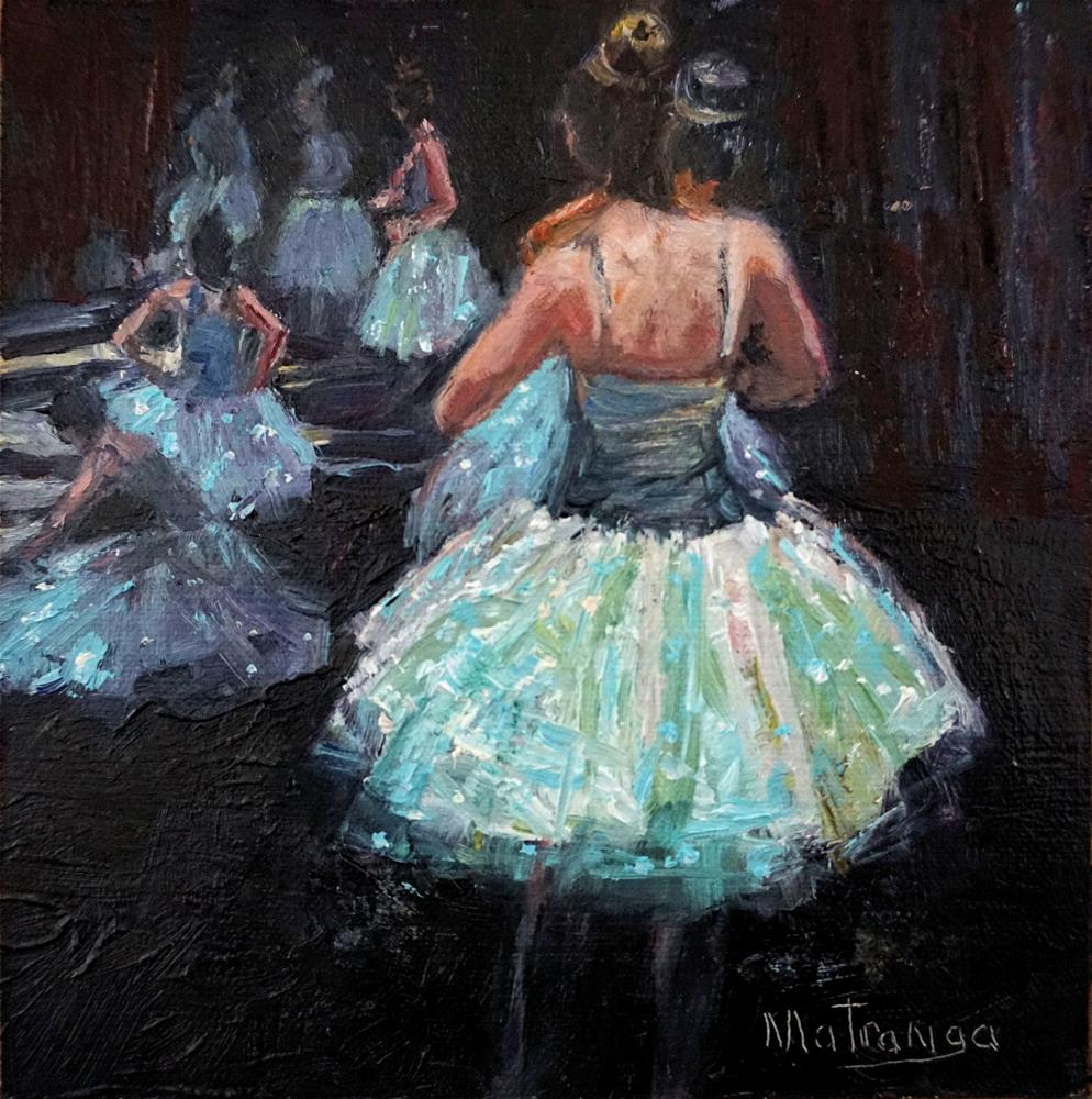 """Tutu Perfect"" original fine art by Patricia Matranga"