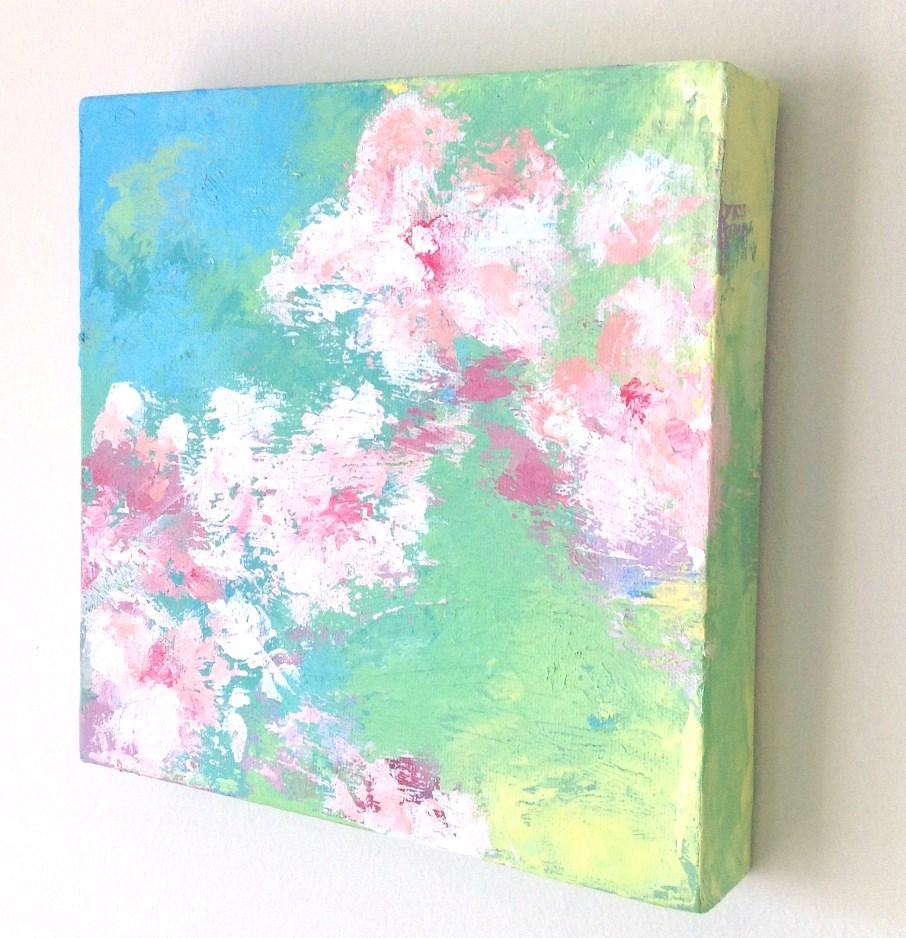 """""""The Colors of Spring"""" original fine art by Hui (Hue) Li"""