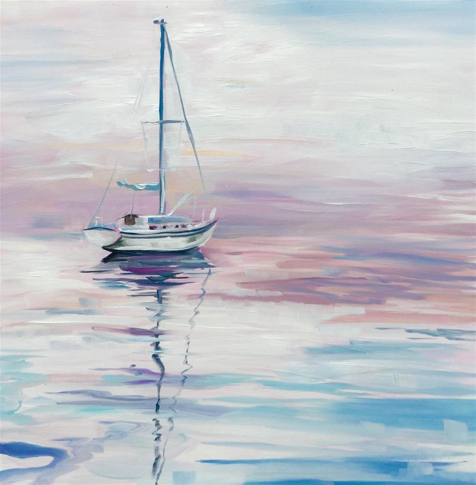 """Adrift"" original fine art by Lauren Kuhn"