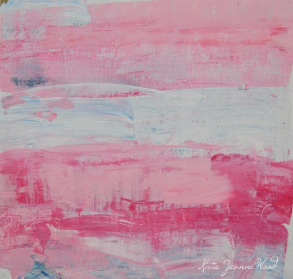 """Abstract No 61"" original fine art by Katie Jeanne Wood"