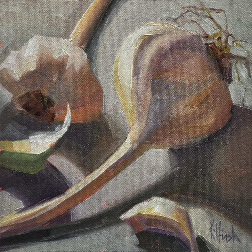 """Angle of Repose"" original fine art by kathy hirsh"