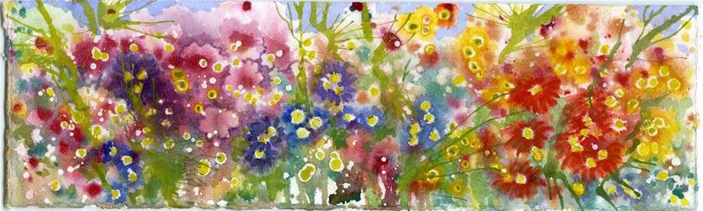 """Pano Flowers"" original fine art by Eileen Hennemann"