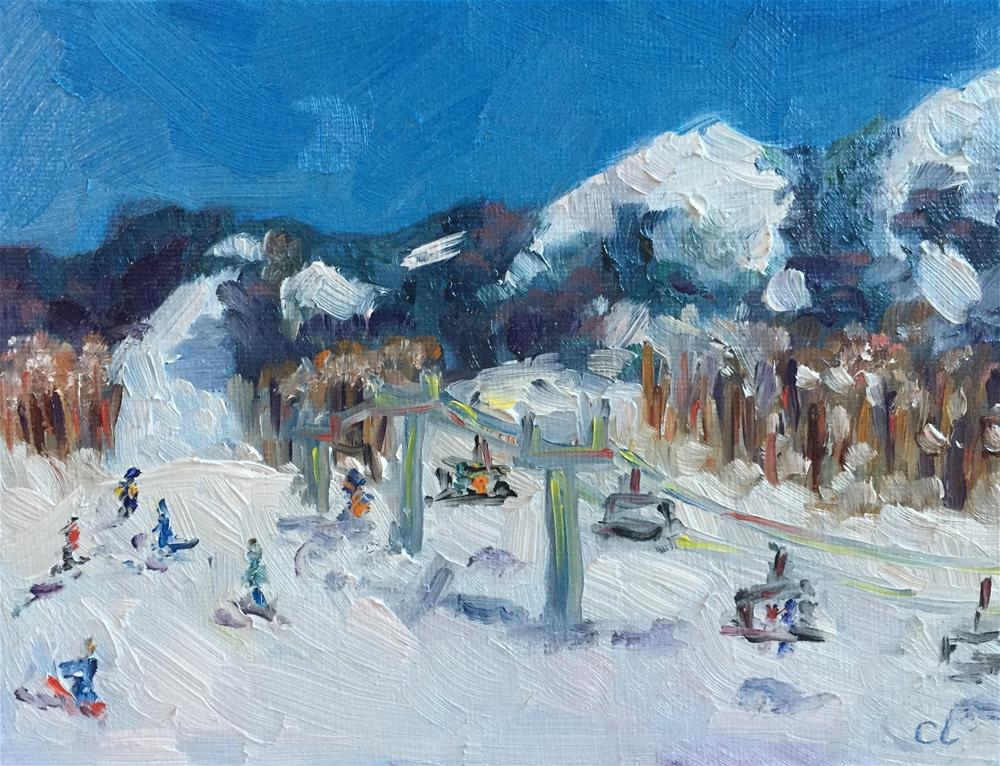 """Crested Butte Spring Break "" original fine art by Cheree Apalona Lueck"