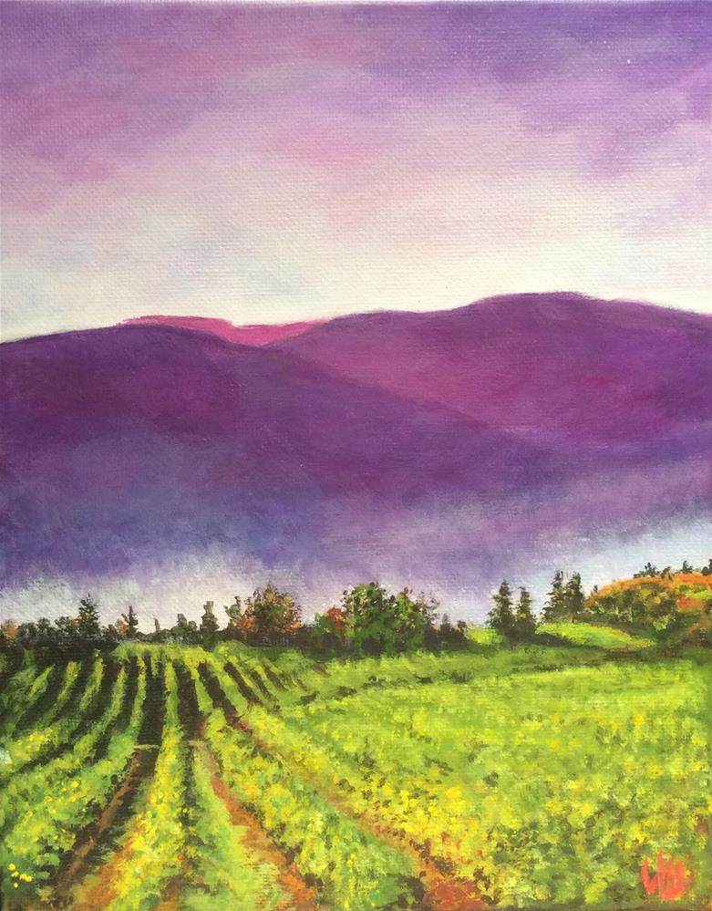 """Morning Mist"" original fine art by wendy black"