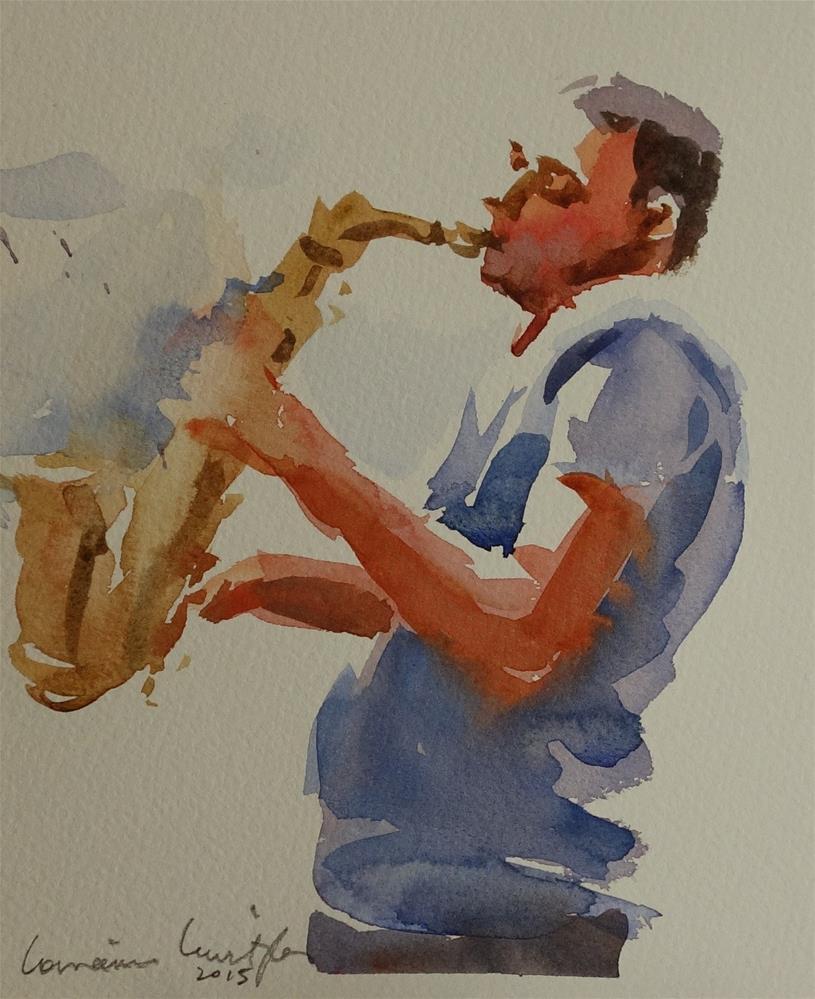 """Playing with soul"" original fine art by Lorraine Lewitzka"