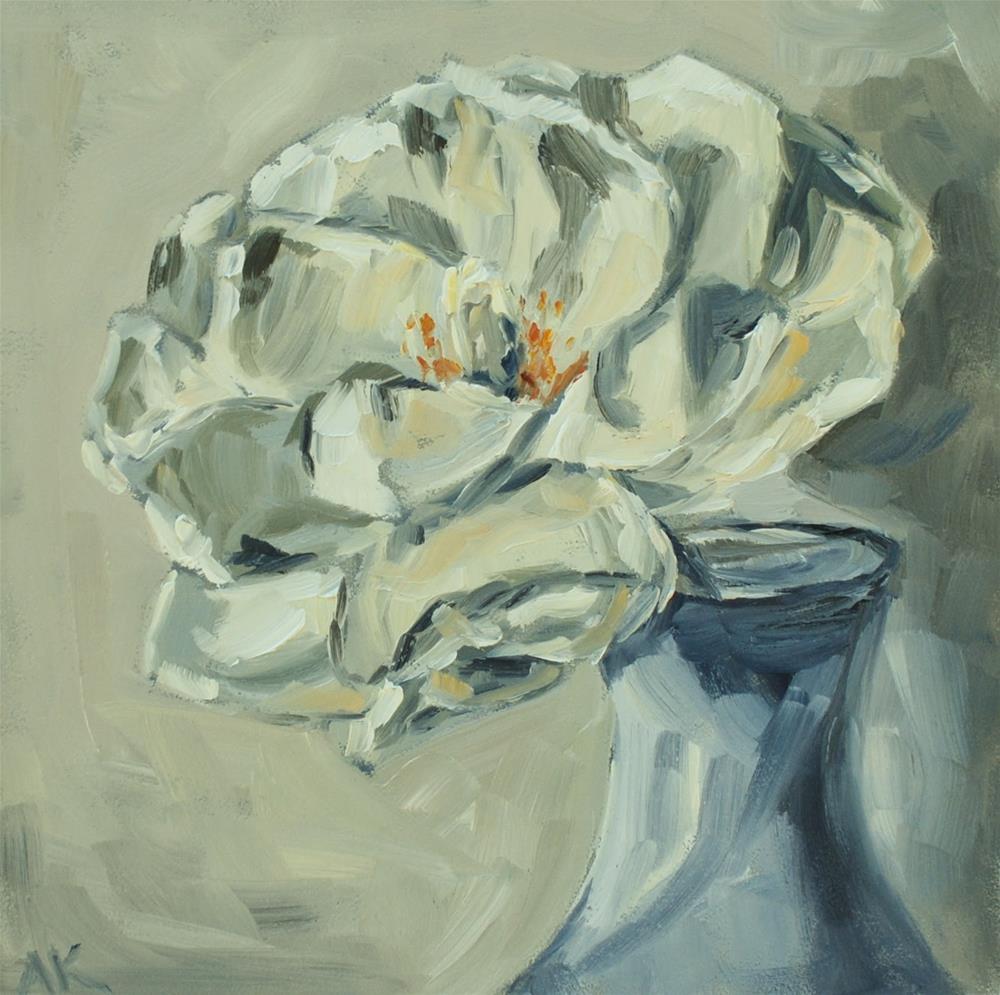 """Magnolia"" original fine art by Alison Kolkebeck"