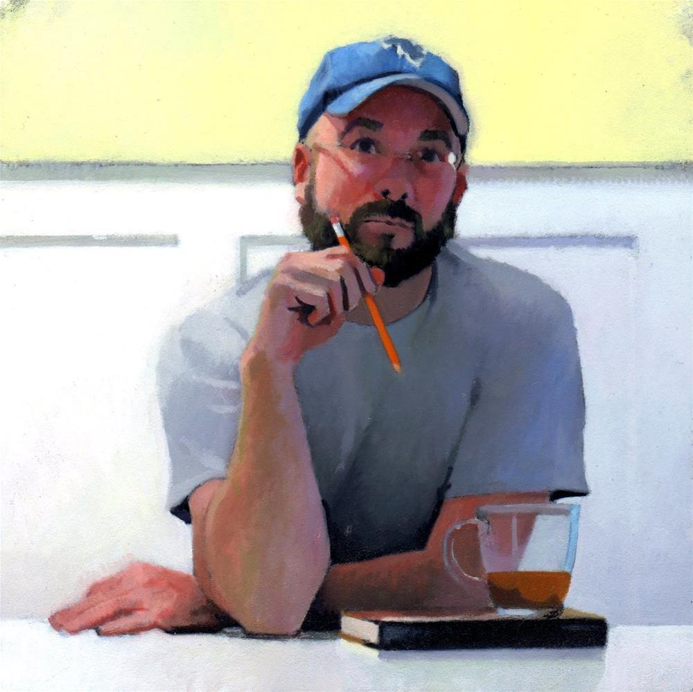 """#325 #2 Tea Study"" original fine art by Brian Burt"