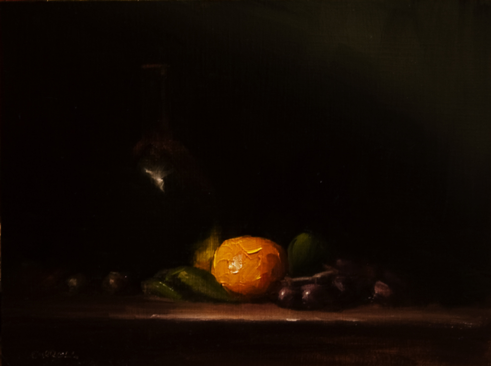 """""""Centrepiece"""" original fine art by Neil Carroll"""
