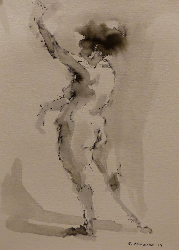 """nude2"" original fine art by Katya Minkina"