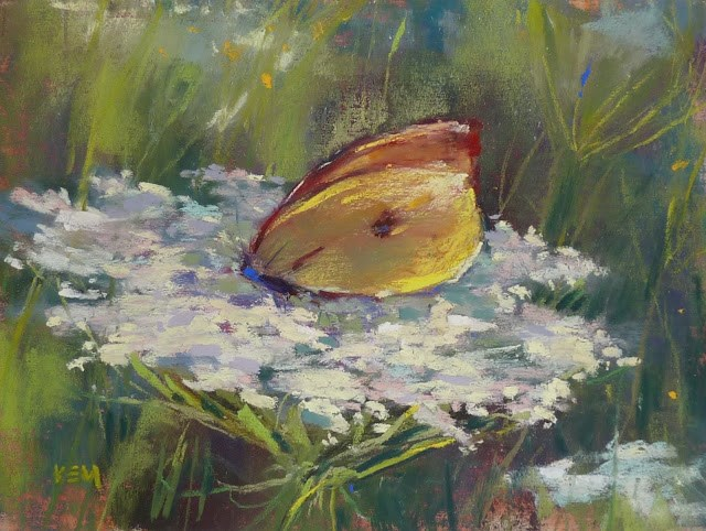 """A Summer Painting Assignment"" original fine art by Karen Margulis"