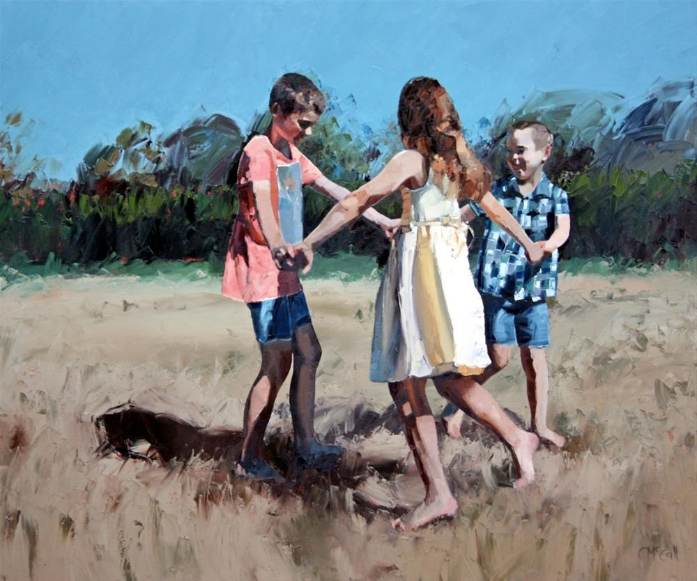 """Age of Innocence"" original fine art by Claire McCall"