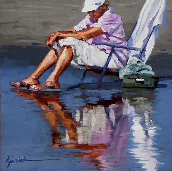 """Reflect Upon"" original fine art by Karin Jurick"