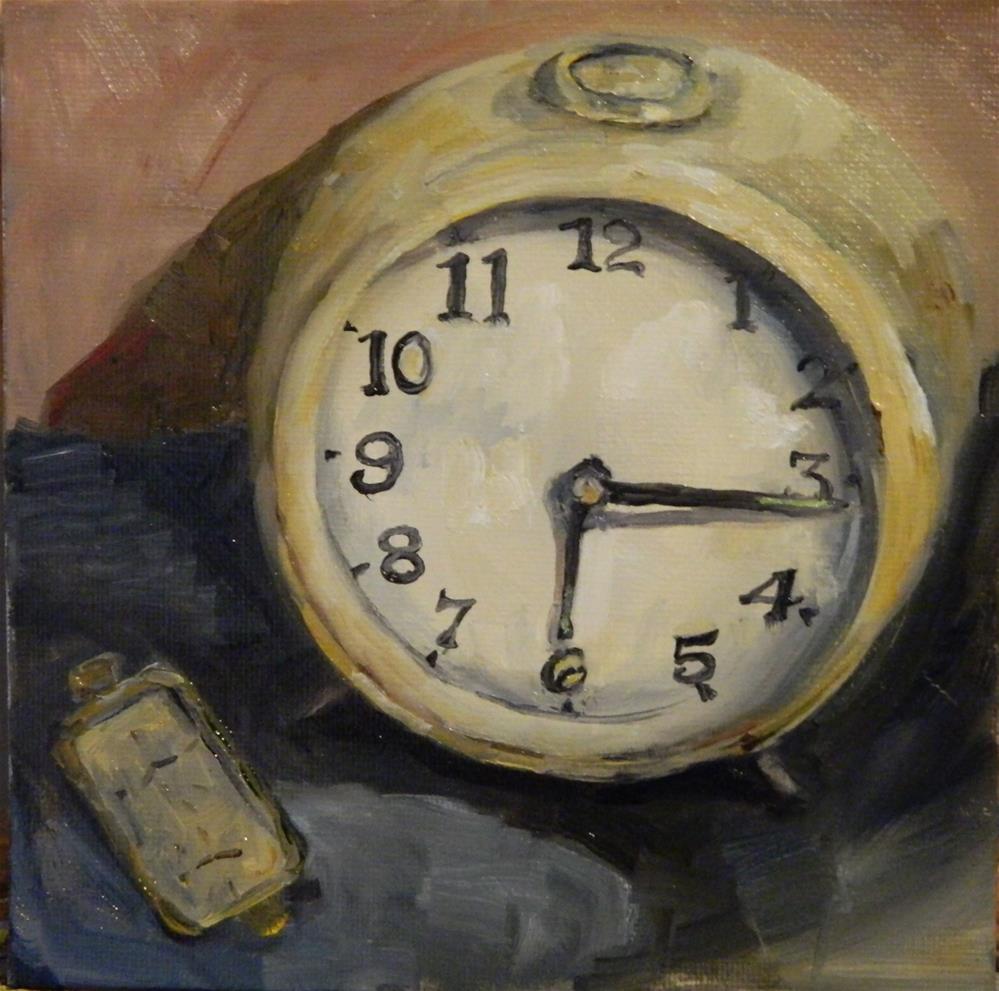 """Old Timers"" original fine art by Debra Shore"